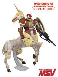 Zaku Centaur Concept by megamike75