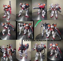 Gundam Heavyarms by megamike75