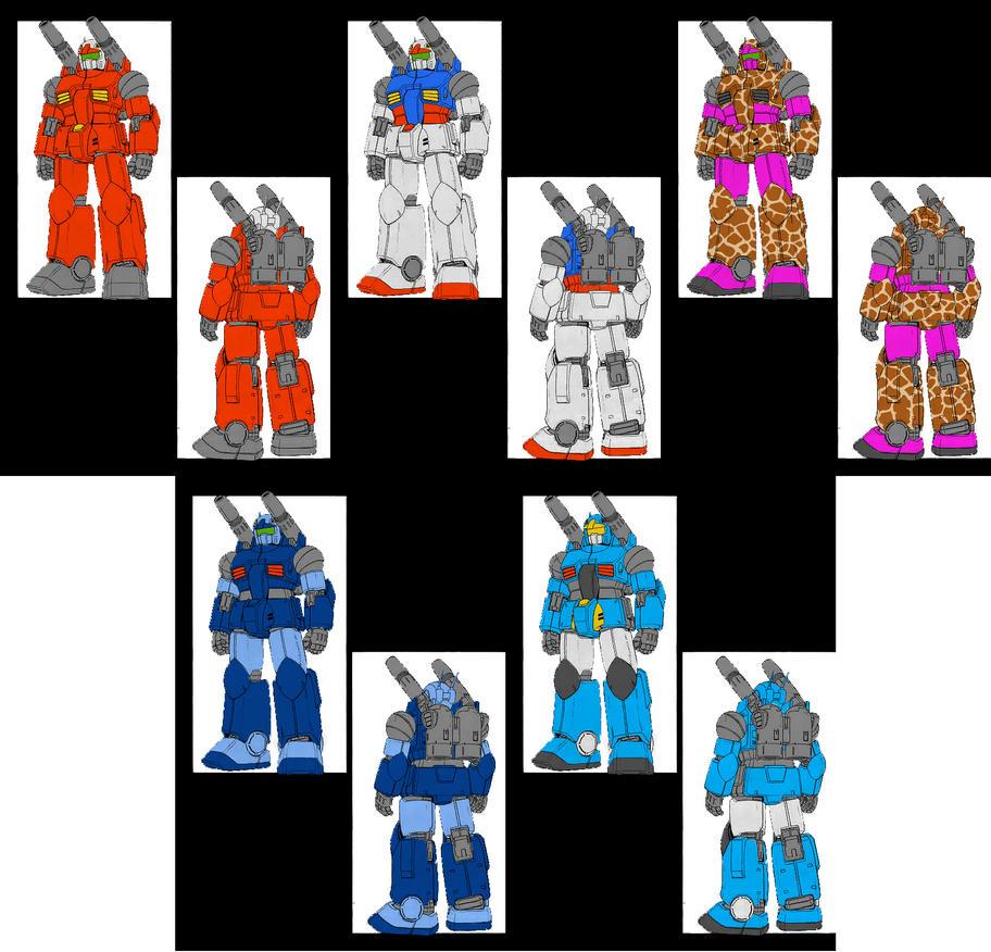 Guncannon Colours by megamike75