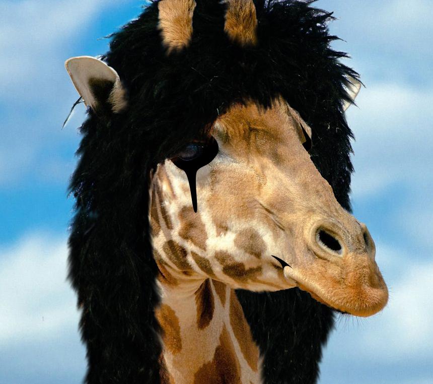 Alice Cooper Giraffe by megamike75