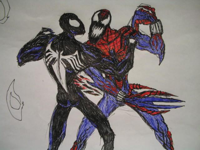 Black suit spiderman vs carnage - photo#7