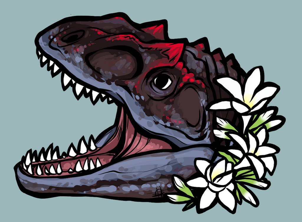 Allosaurus by Shark-Bites