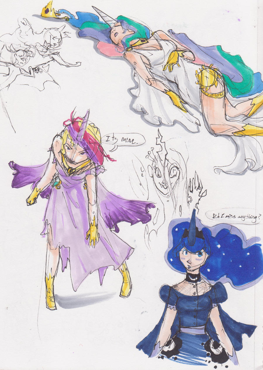 Princesses by AsterDog