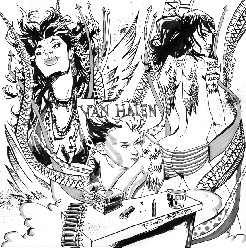 VanHalen by JimMahfood-FoodOne