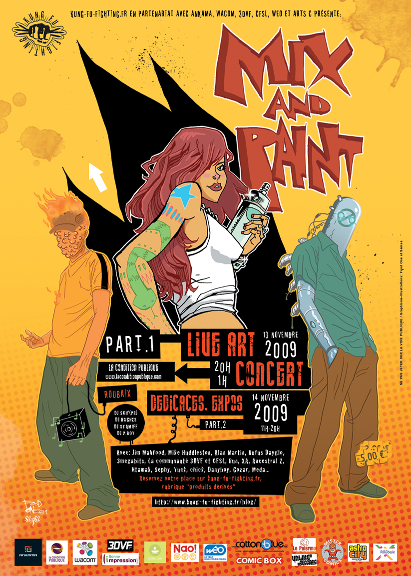 Mix and Paint Flyer by JimMahfood-FoodOne