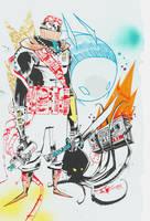 Graf Samurai Octo Funk by JimMahfood-FoodOne