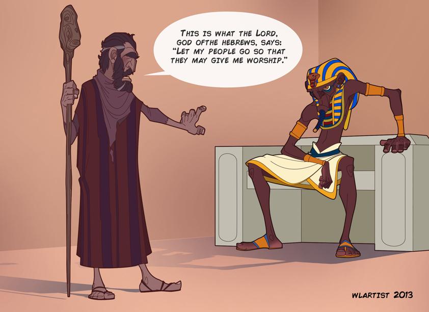 Moses Vs Ramses edited by MidoriStudio on DeviantArt