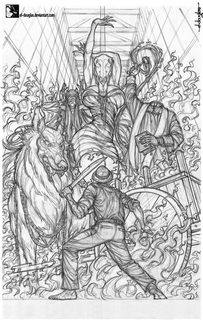 ASUSTO sketch pin-up. by el-douglas