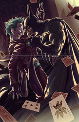 The Batman and The Joker
