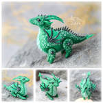 Mini Dragon - Green (SOLD)