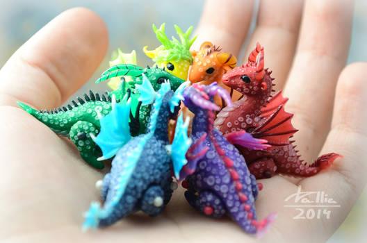Mini Dragons - Rainbow
