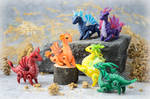 Mini Dragons - Rainbow
