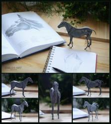 Horse Ecorche by dallia-art