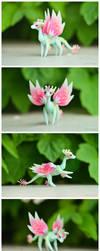 Handmade ball-jointed fairy dragon by dallia-art