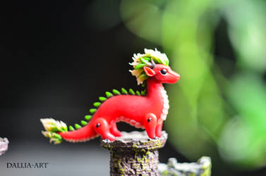 Miniature eastern dragon
