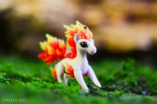 Miniature Ponyta