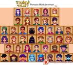 [Mods] ALL Villager Portraits in Stardew Valley