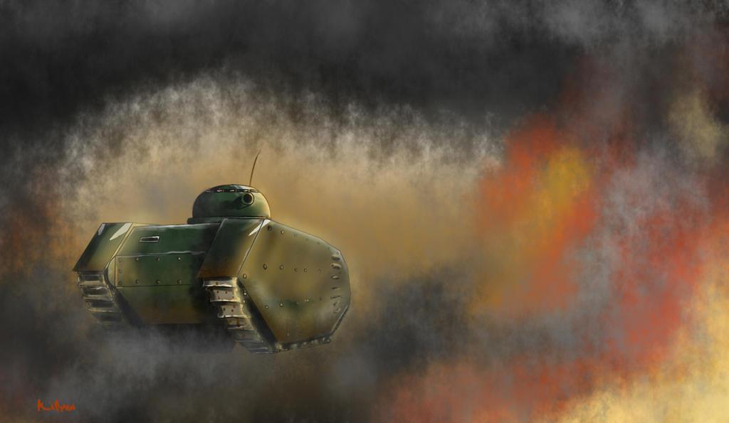 heavy tank T81-G by Killman-sama