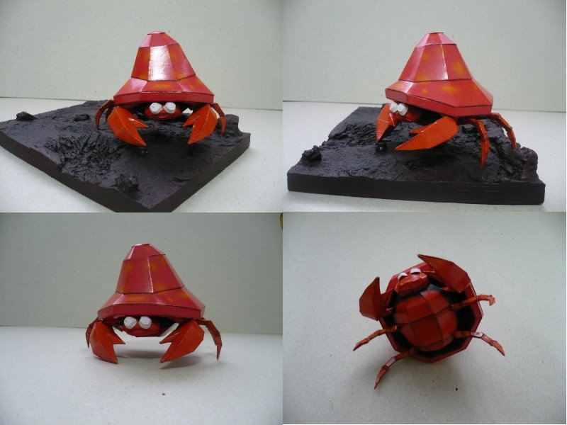 Pokemon- Parasect papercraft by savaskul
