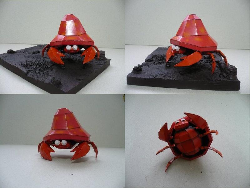 Pokemon- Parasect papercraft by savaskul