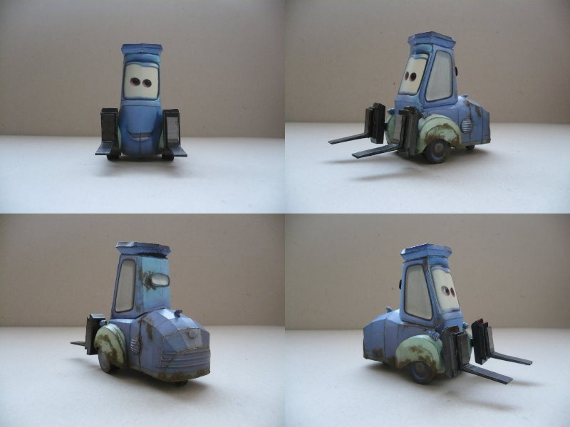 Papercraft Cars Template Cars Diego Papercraft by