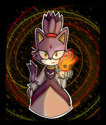 T!Blaze (Sonictale) by OksyPine