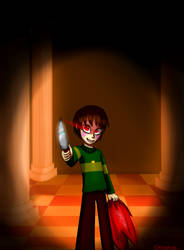 And what now,Joker? by OksyPine
