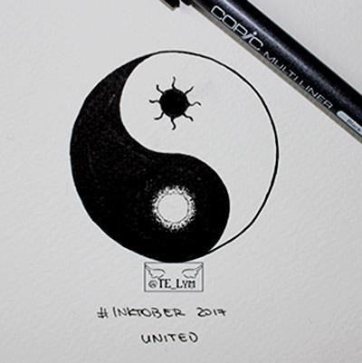 Inktober united by Billie-phoebe