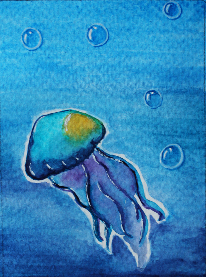 Jellyfish by Billie-phoebe