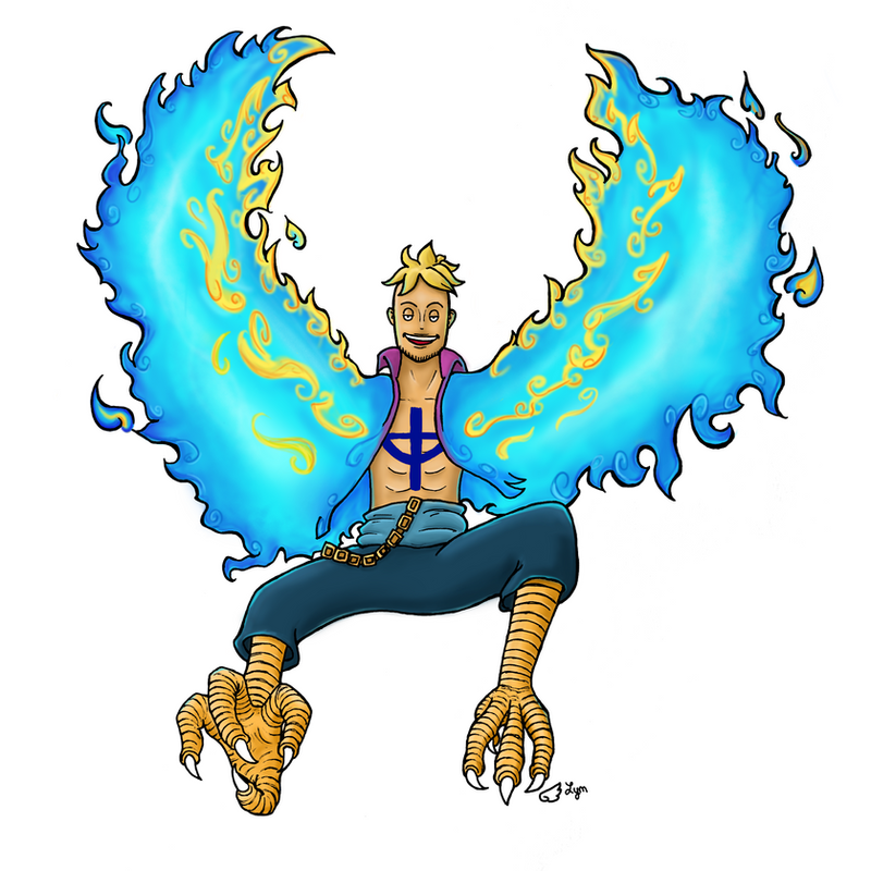 Marco the phoenix by Billie-phoebe