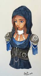 [Character Design] Sun Hunter by Lymsl