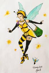 Bee fairy by Lymsl