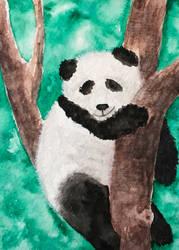 [Aceo] panda by Lymsl
