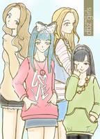 Dragon Girls 2 by marby18