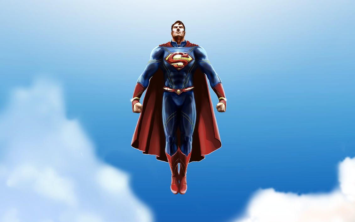 Superman Redesign - No Trunks by michealoduibhir