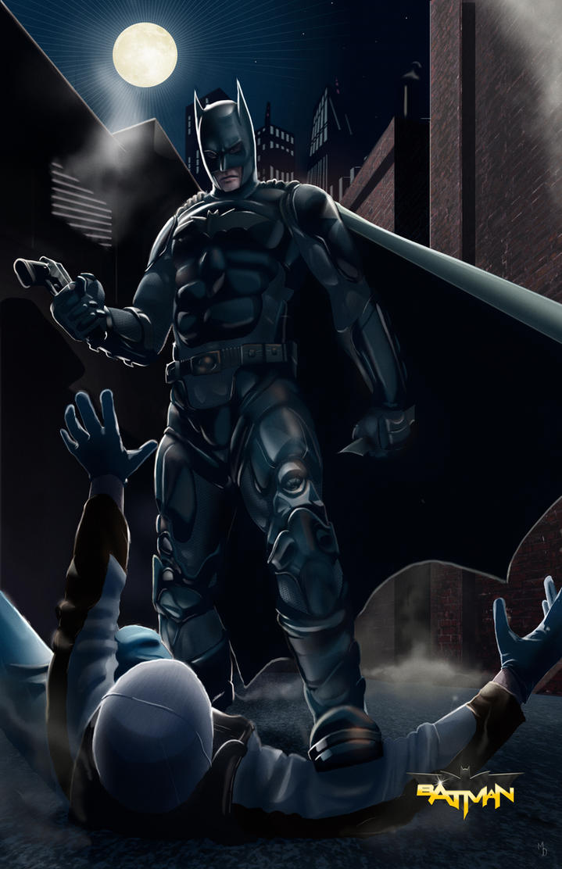 My Batman Redesign By Michealoduibhir On Deviantart