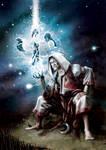 Dian Ceacht - Ancient Irish God of Healing - Paint