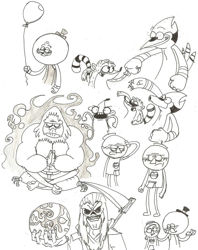 its anything but a sketchdump by pineapplejoey