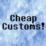 Really Cheap Customs - Open Forever by TheEnchantedInk26