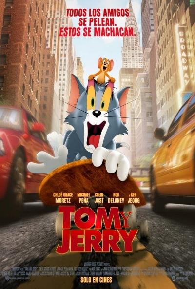 Tom y Jerry ver pelicula online completas 2021