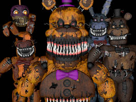 Nightmares Pack C4D by luizcrafted