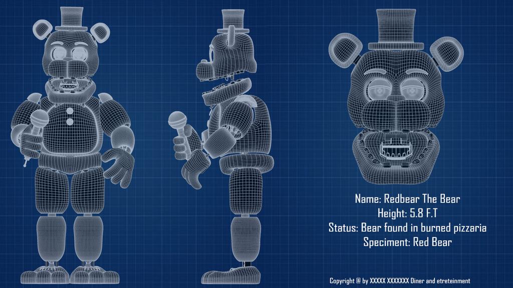 Redbear blueprint by luizcrafted