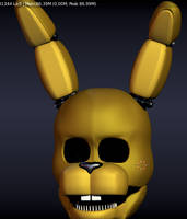 Spring forehead wip 2 by luizcrafted