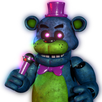 {Help Wanted/Blender 2.8} BlackLight Freddy