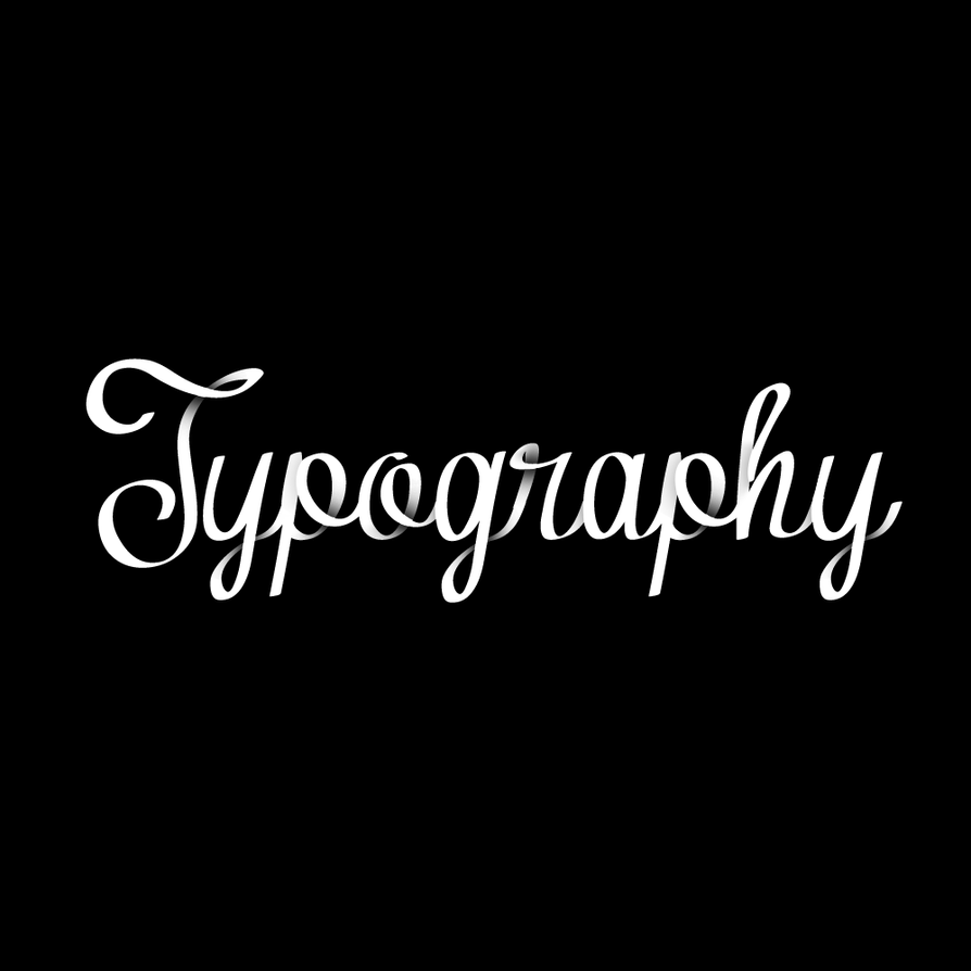 Typography by RyanDerek