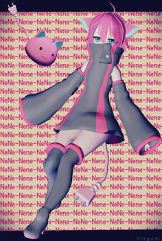 Nene/Neneko by MonstahSheep