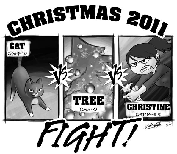 Cat vs. Tree vs. Me