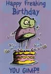 Friendly birthday card