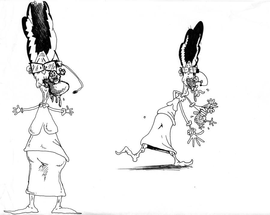 Conrad Cartoons 1996ish 1