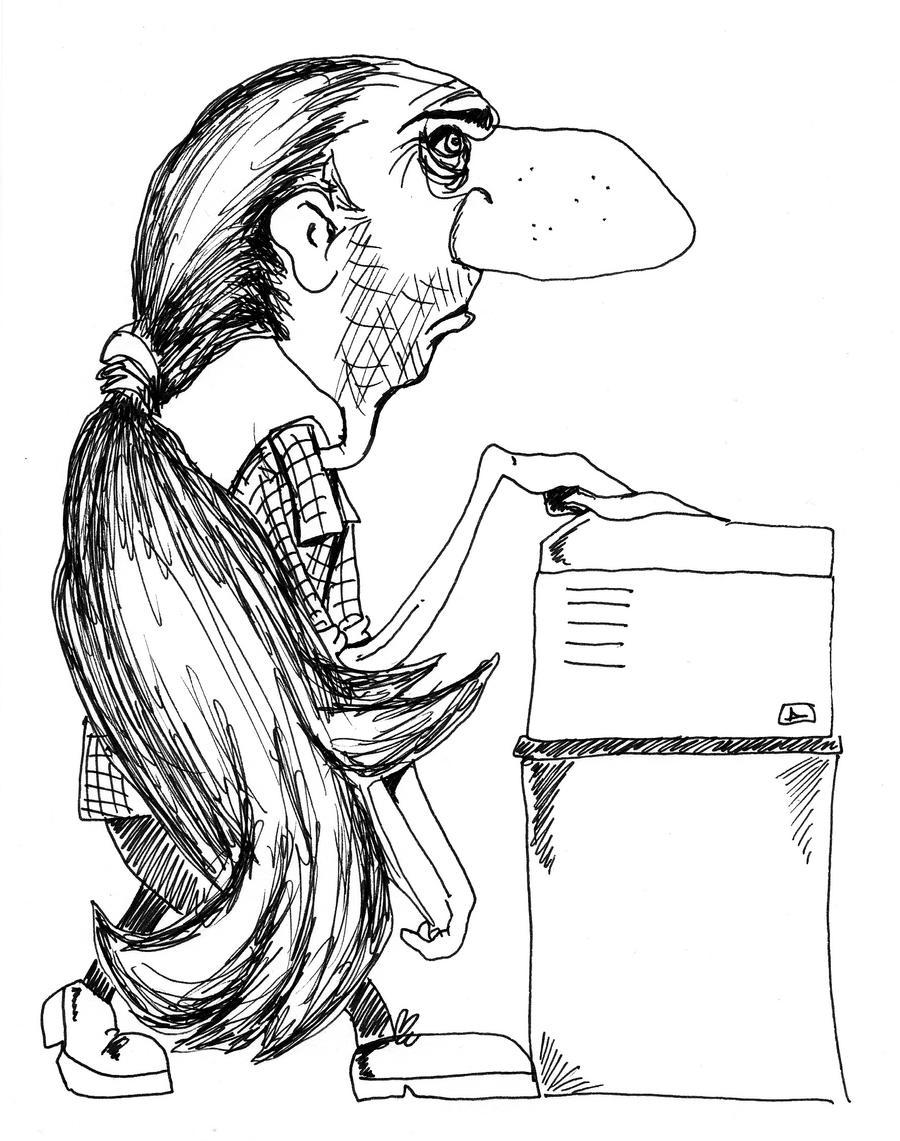 Conrad Cartoons 1996ish 14